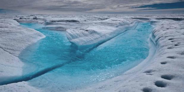 IJs Groenland smelt sneller