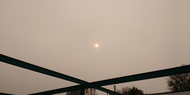 Oranje zon door Ophelia