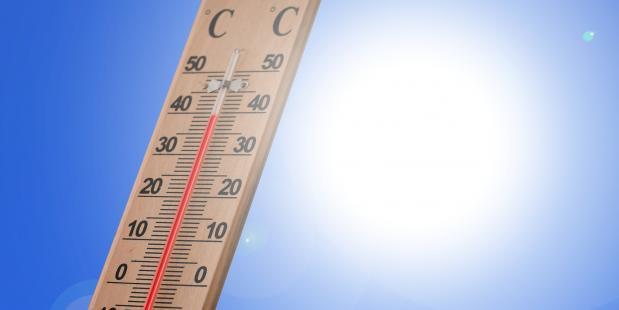 Thermometer Hittegolf