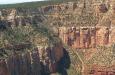 Grand Canyon niet gehuld in mist