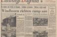 krantenbericht over windhoos Tricht